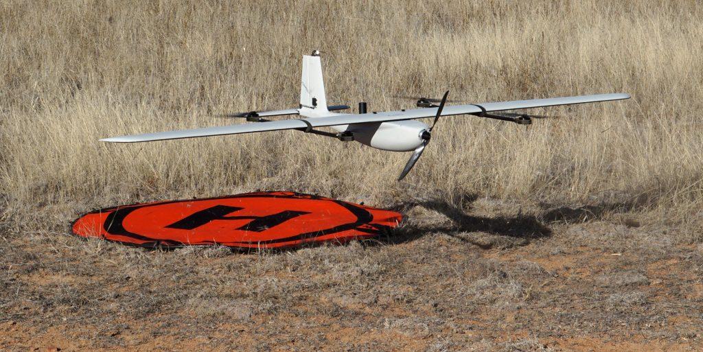 Lynx VTOL drone hovering